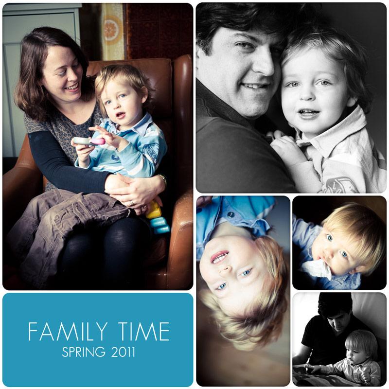 Beautiful family enjoying lifestyle photography at home