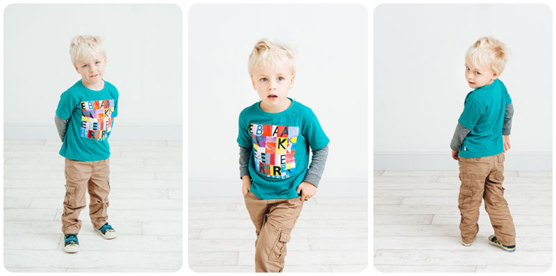 Classic multi pose child photos