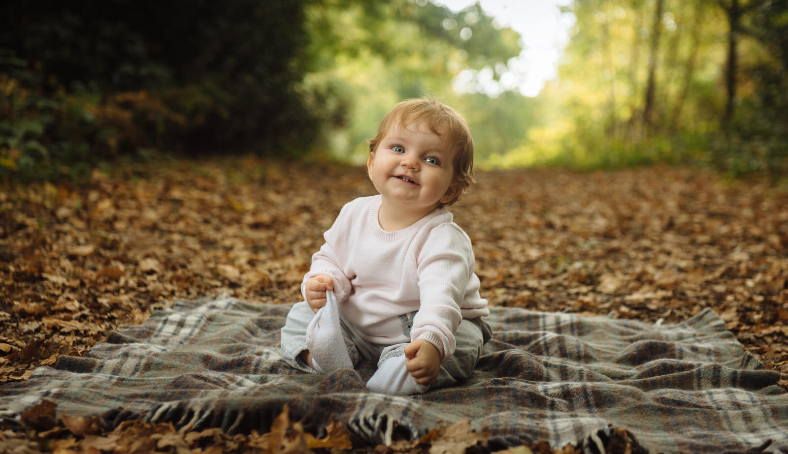 Baby portraits in the park - Family photography Royal Tunbridge Wells