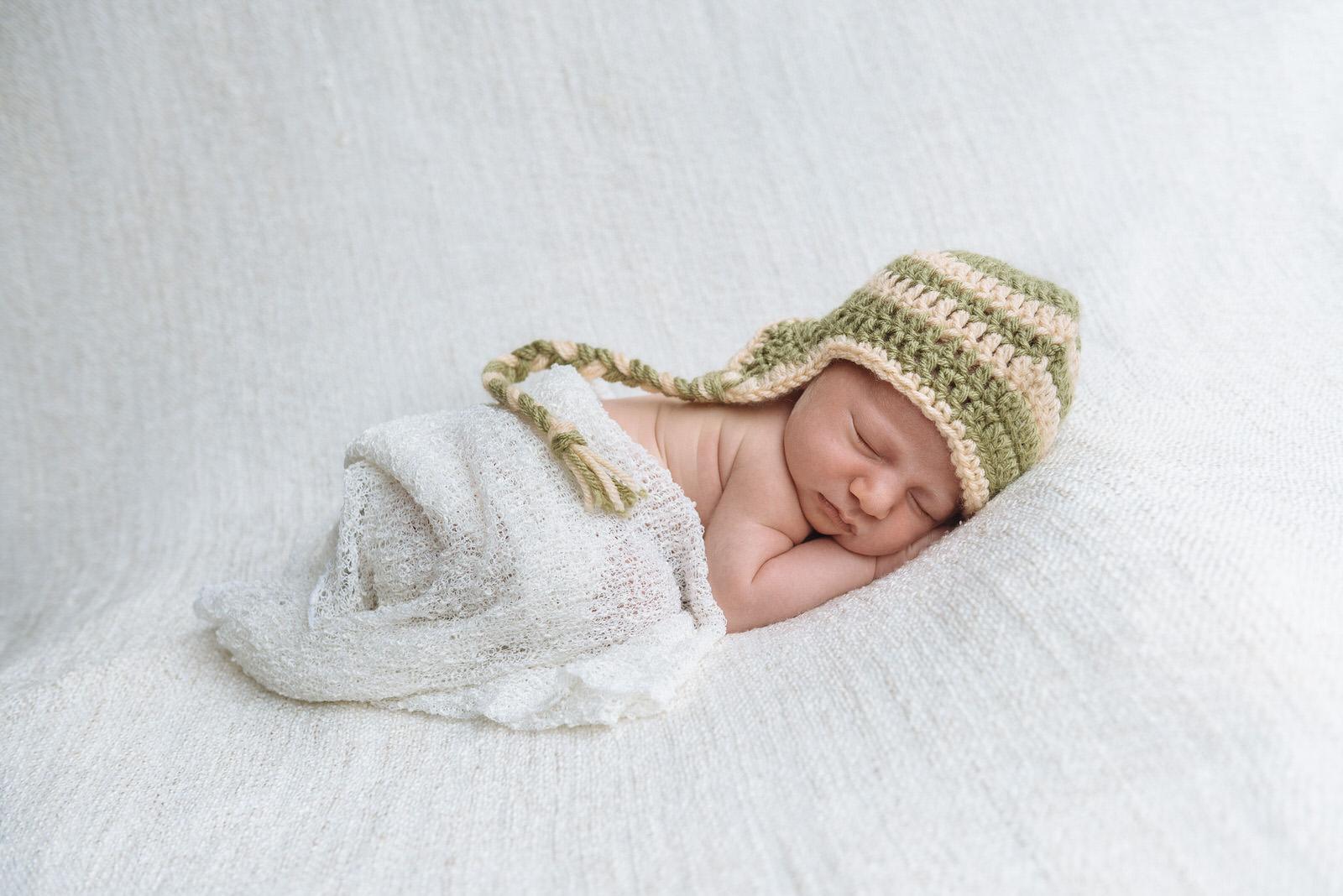 Sleeping newborn - Uckfield newborn baby photographer